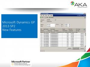 Microsoft Dynamics GP 2013 SP2