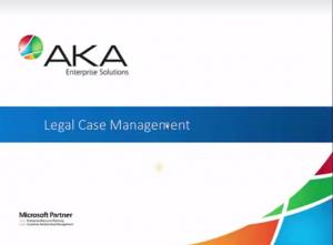 legal case management