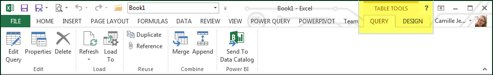 Power Query For Excel Load Settings Minimize Wasted Memory