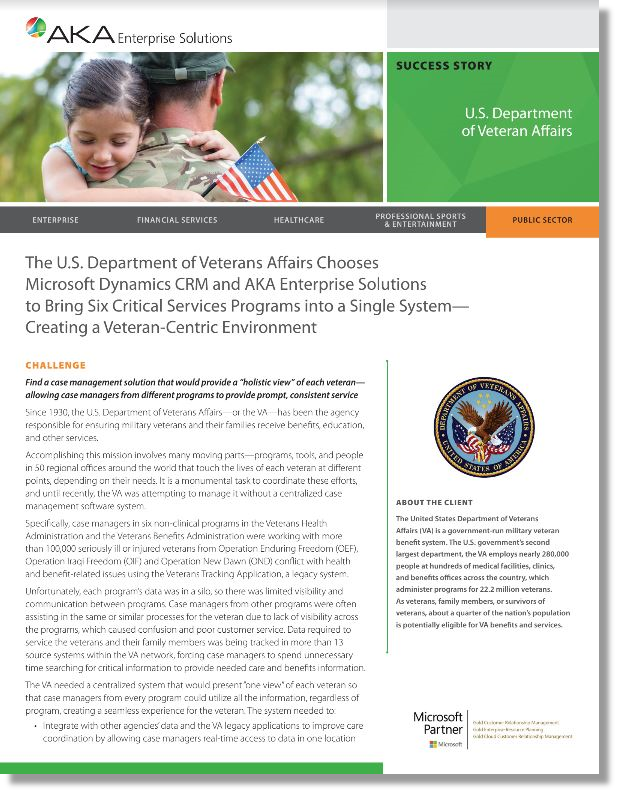 a case study audit report of veterans affairs association Official audit report – issued september 20, 2017  activities related to the  administration of veteran benefits, veteran  determination so they have an  opportunity to review their benefit eligibility decisions  we obtained data from  dvs's case-management system, the veterans services management.