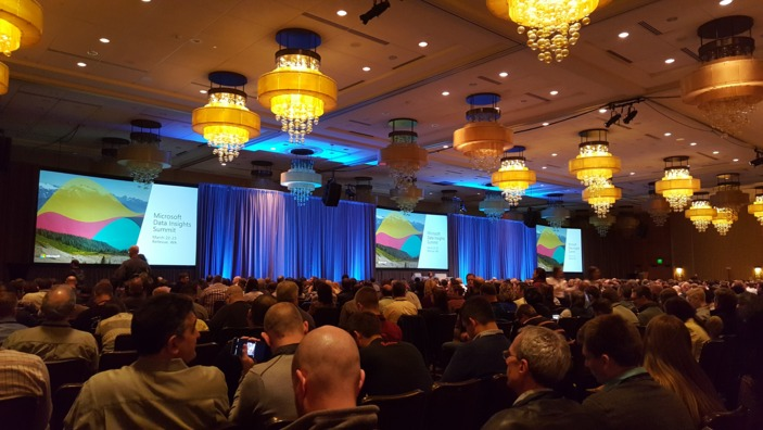 Microsoft Data Insights Summit - 2016