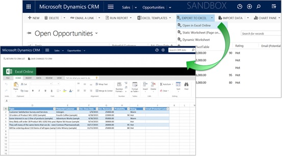 Microsoft Dynamics CRM Why Customers Love It - Crm excel template