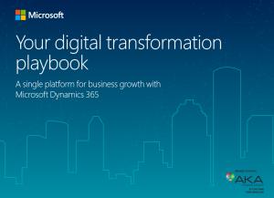 playbook microsoft dynamics 365 digital transformation aka