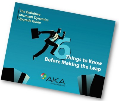 Microsoft Dynamics Upgrade eBook Things to know before Upgrading to Microsoft Dynamics 365
