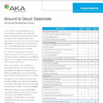 AKA Enterprise Solutions' Ground to Cloud - Essentials