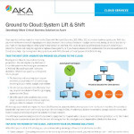 AKA Enterprise Solutions' Ground to Cloud - System Lift & Shift