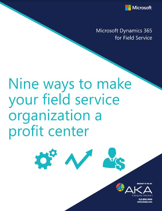 9 Ways Field Service White Paper