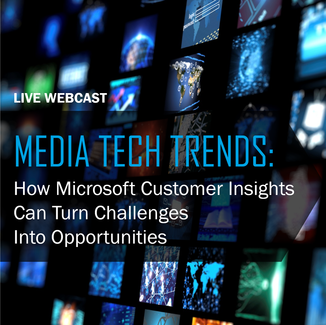 Media Tech Trends Webcast