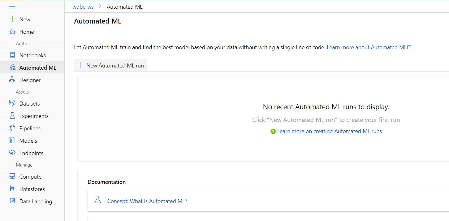 Azure Automated Machine Learning-Automated ML